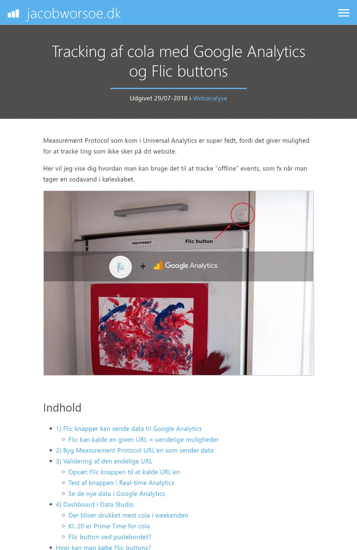 Et blogindlæg på v4.